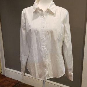 Button down white shirt